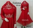 Gamis Pesta Fatima P1181 Sifon