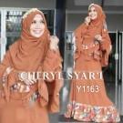 Gamis Bergo Cheryl Syar'i Y1163