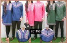 Baju Muslim Couple Vivian Bordir CP1150