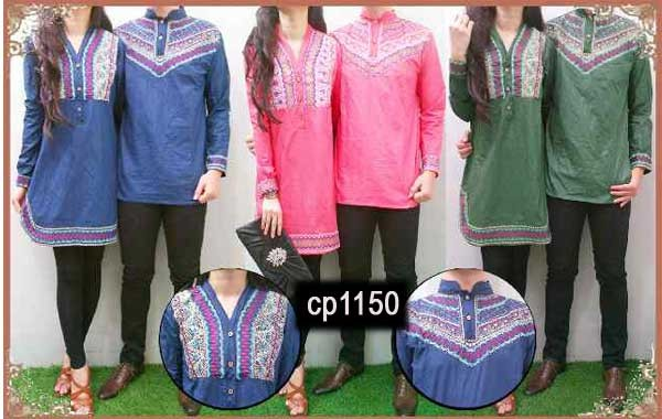 busana couple vivian bordir cp1150