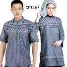 Couple Bordir CP1167 Simpel Elegan
