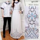 Gamis Couple CP1184 White