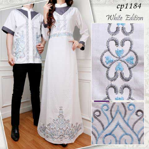 cp1184 couple white bordir