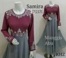 Gaun Pesta Samira Manggis P1161