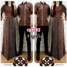 Gamis Couple Angelia CP1202 Batik
