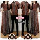 Gamis Couple Angelia CP1202 Batik