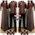 cp1202 gamis couple angelia batik