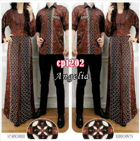 cp1202 gamis couple angelia batik