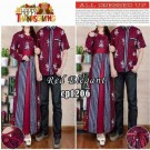 Gamis Couple Red Elegant CP1206