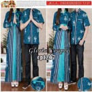 Gamis Couple Gloria Blue CP1207