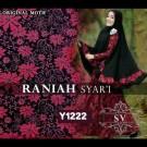 Gamis Syari Raniah Premium Y1222