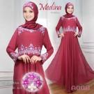 Gamis Pesta Medina Sifon A008 Pink