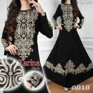 Baju Pesta Tarina Bordir A010 Black