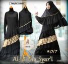 Gamis Bergo Al-Dizha Syari A017