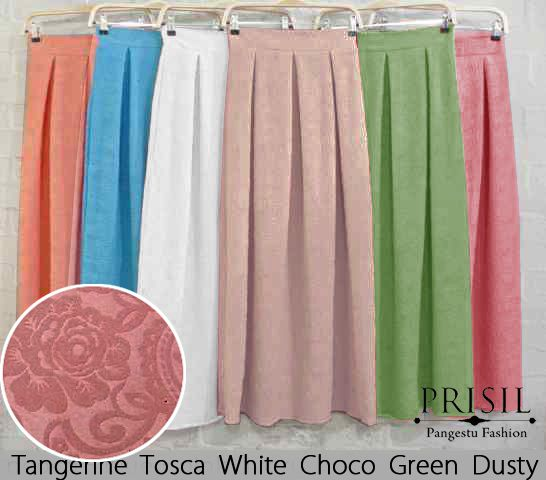 Rok remaja wedges embos