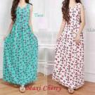 Maxi Dress Cantik Cherry Wedges