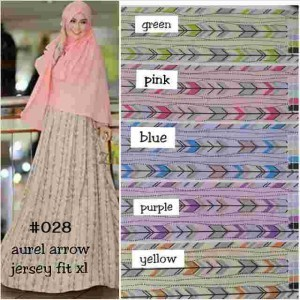 028 gamis aurel arrow
