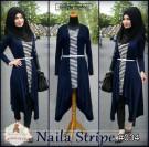 Blouse Muslim Naila Stripe 034
