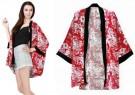 Cardi Kimono Motif Bunga