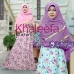062 khaleefa gamis jersey super + jilbab ceruti