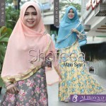 066 shafeea gamis jersey super + jilbab ceruti