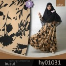 Gamis Crepe Mocca A088