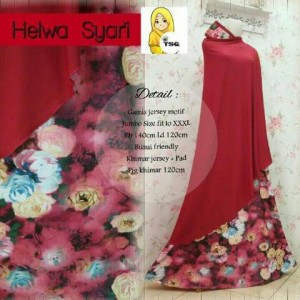 a079 gamis jersey helwa maron