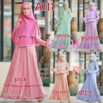 a111 gamis jersey polka
