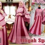 a123 gamis jersey alfiyah syari