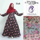 Maxi Dress Katun Zafira A135