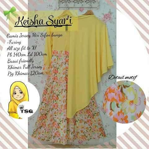 a140 keisha syari yellow