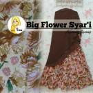 Gamis Big Flower Syari A146