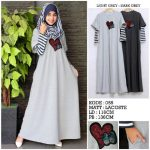 A171 Gamis Remaja Modern Lacoste