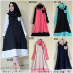 jeda tunik pocket krah