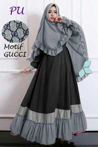 Gamis Modern Jaeya Syari A186 Baju Muslim Terbaru