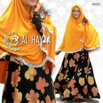Gamis Big Flower Crepe A195
