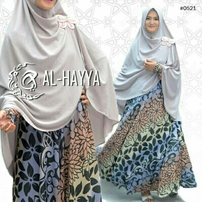 a191a gamis batik soft (payung)