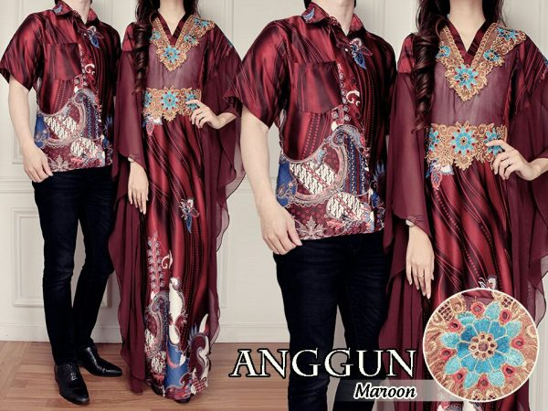 model baju couple batik sutra