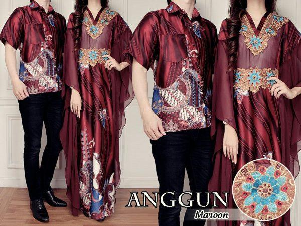 model baju couple batik sutra