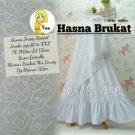 Gamis Syari Hasna Brokat A200