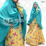 baju muslim modern motif kupu