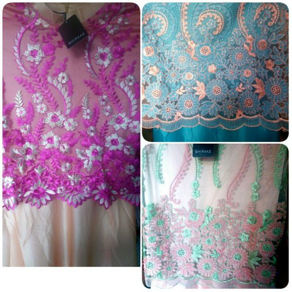baju pesta satin brokat A207 Shiraaz