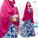 Gamis Cantik New Krisan Maxi