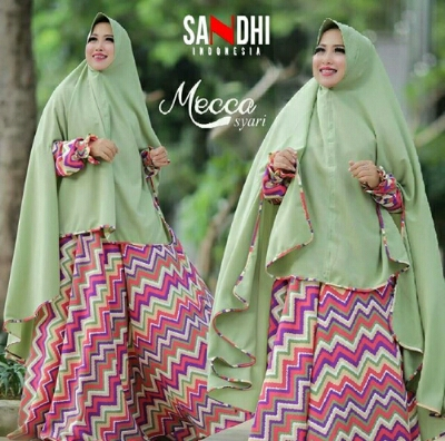 Gamis Umbrella Motif Ziggy A194