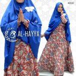 gamis motif batik