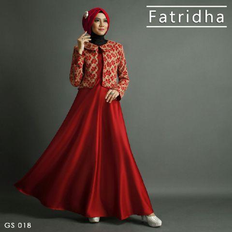 Model Baju Muslim Gamis Untuk Pesta Terbaru Mewah Dan