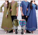 Baju Couple Katun Bordir CP220