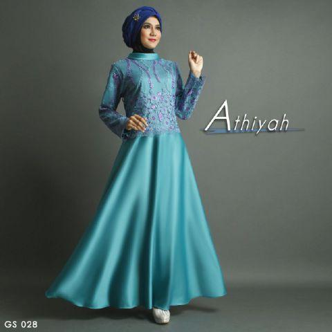 baju-pesta-satin-brokat-biru-A207-Shiraaz