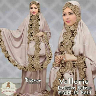 Mukena Vallerie Brown MK105b Jersey