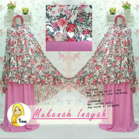 Mukena Cantik Inayah MK93 Pink